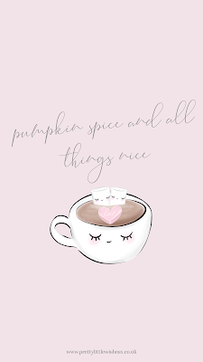 Pretty Little Wishes Pink Pumpkin Spice Prettiness Girly