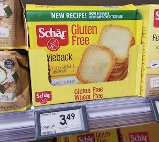 Zwieback by Schär gluten free
