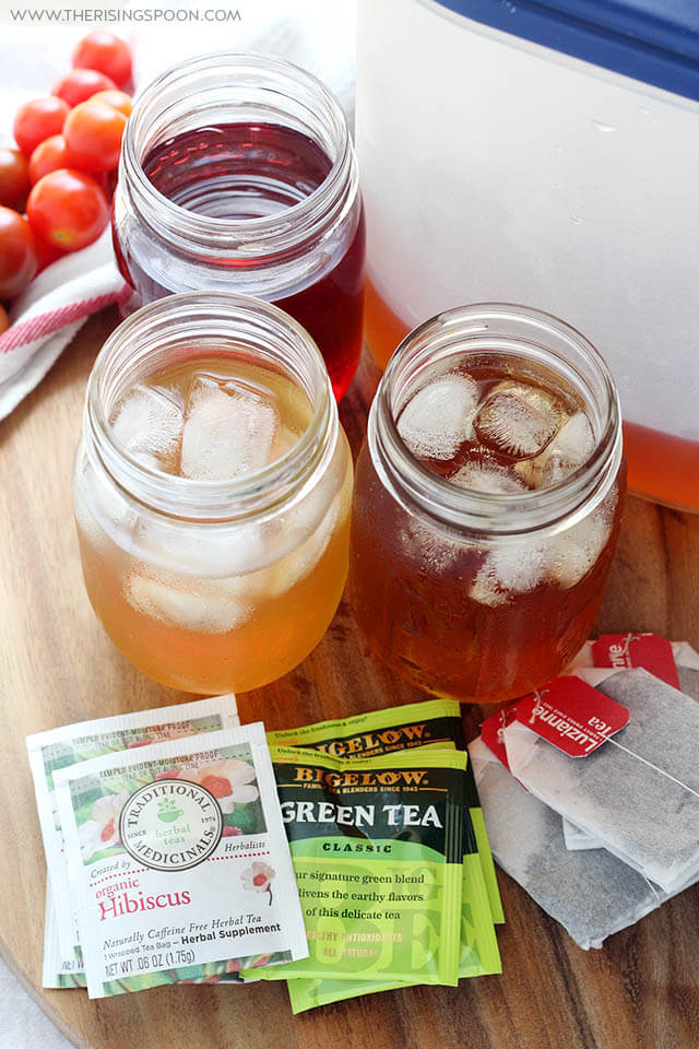 How To Make Cold Brew Tea (Easy Recipe For The Best Green, Black or Herbal Iced Tea)