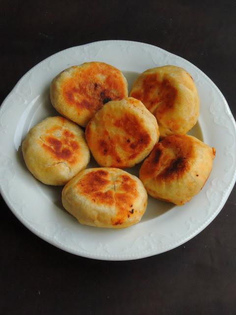 Pan fried Mini Soya Masala Buns