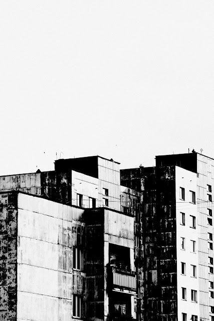 Koncepcyjna fotografia krajobrazu. Sosnowiec Środula. fot. Łukasz Cyrus
