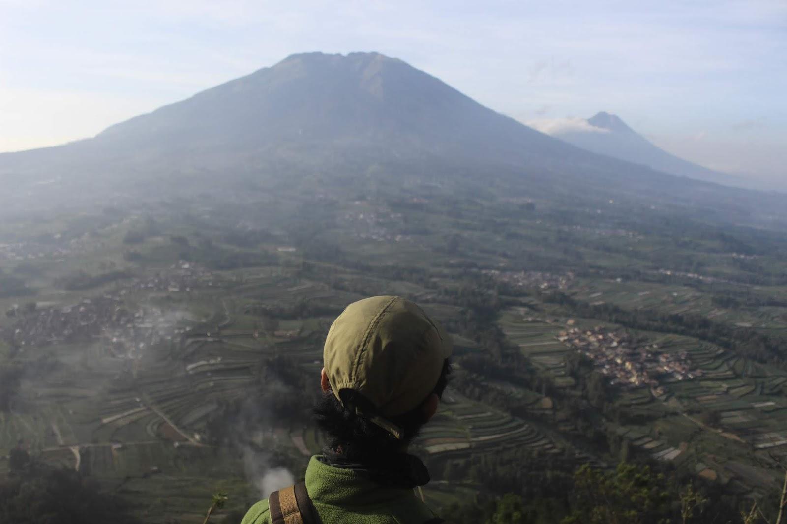 view gunung merbabu