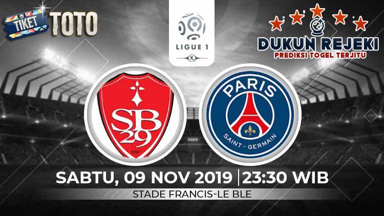 Prediksi Brest vs Paris Saint Germain 09 November 2019
