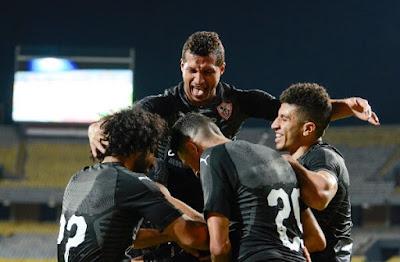 ملخص وهدف فوز الزمالك علي المصري (1-0) الدوري المصري