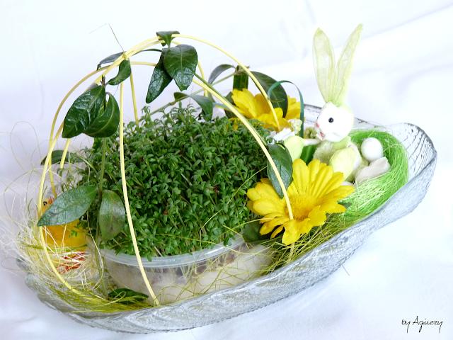 DIY: Wiosenny stroik