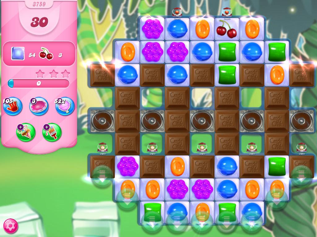 Candy Crush Saga level 3759