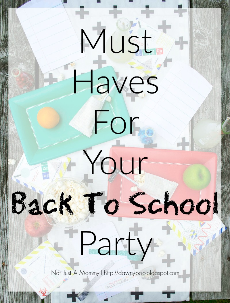 Great for school themed parties all year!
