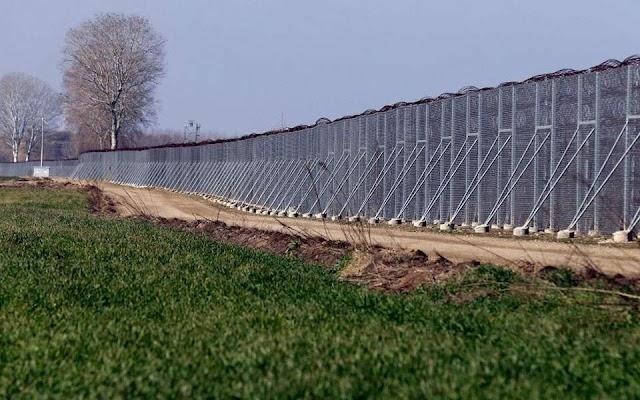 Νέος φράχτης 27 χλμ. στον Έβρο-Σε ποιες περιοχές θα κατασκευαστεί-Τι περιλαμβάνει η προκήρυξη (ΦΩΤΟ)