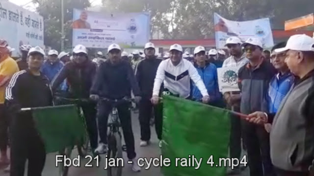 Aman Goyal's nephew's initiative to safeguard health, environment and fuel, initiatives to remove cycling in Faridabad