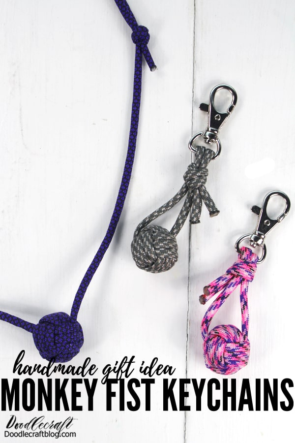 Learn how to make Monkey Fist Keychains with Paracord from Strapworks