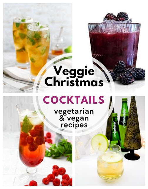 Veggie Christmas - Christmas vegetarian and vegan cocktails #christmas #christmascocktails #cocktails #christmasdrinks