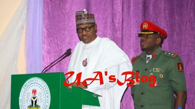 Buhari reveals what MKO Abiola would've done as President, speaks on renaming National Stadium