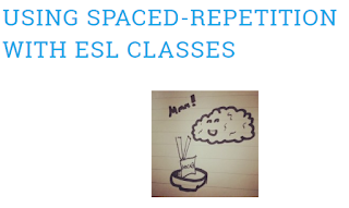 Using Spaced repetition with ESL students