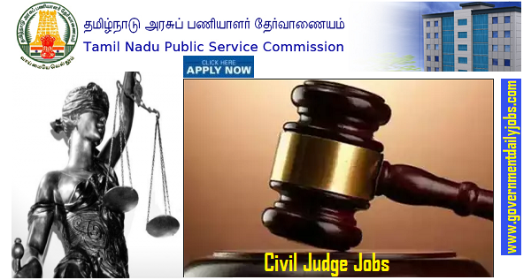 TNPSC Recruitment 2019, Apply online for 176 Civil Judge Vacancies