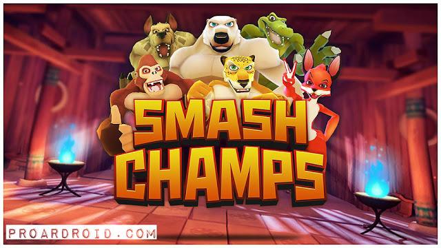 تحميل لعبة الإثارة Smash Champs مهكرة