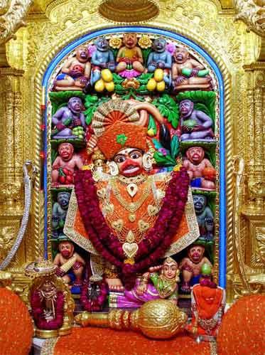 Sarangpur Hanuman Mandir Timings In Gujarat Kashtbhanjandev Temple Salangpur Hindu Blog