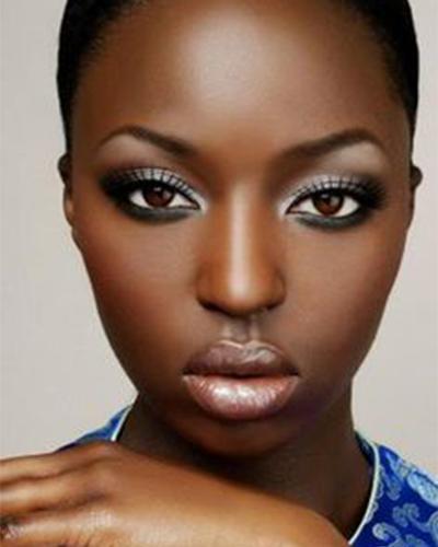 Foto 6 - inspiração maquiagem prata na pele negra