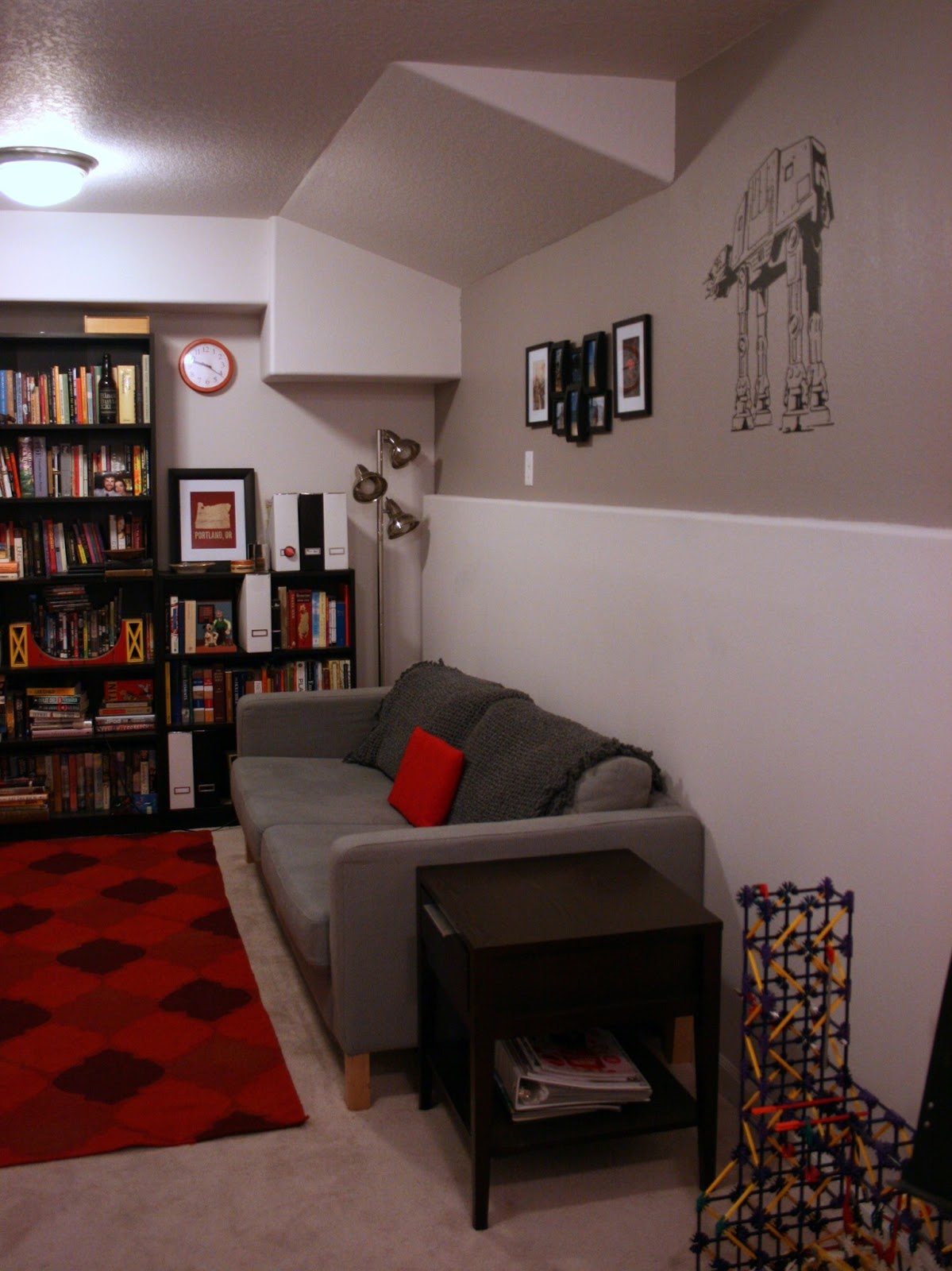 Basement Game Room Designs: More House-painting... The Bonus Room Is Done! / Create