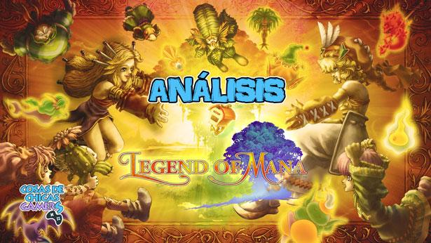 Análisis de Legend of Mana Remastered en Switch