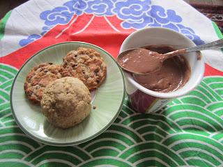 Chocolat chaud aux cookies, texture épaisse du chocolat