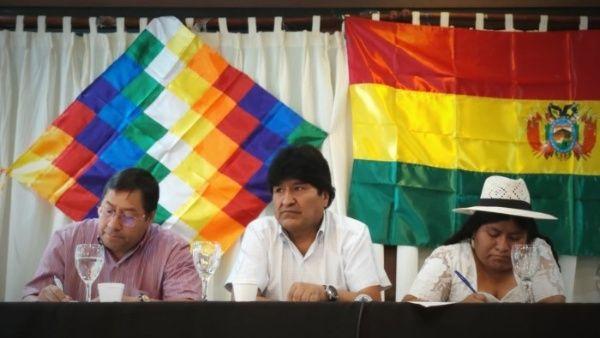 Evo Morales se reúne con candidato presidencial Luis Arce