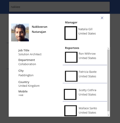 Modal Dialog View on PowerApps