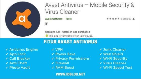 aplikasi antivirus Avast Mobile Security