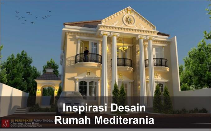 desain rumah mediterania