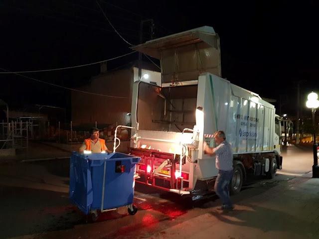 Ηγουμενίτσα: Πλύσιμο - απολύμανση των κάδων απορριμμάτων