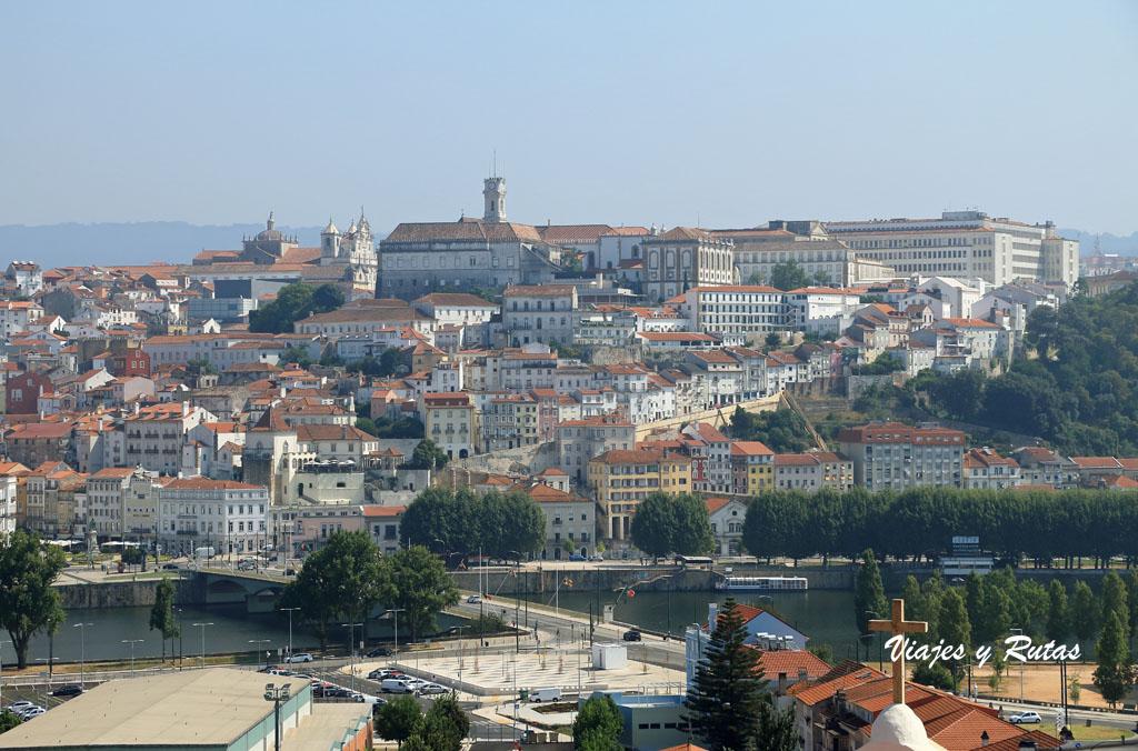 Vistas desde el Monasterio de Santa Clara-a-Nova, Coimbra
