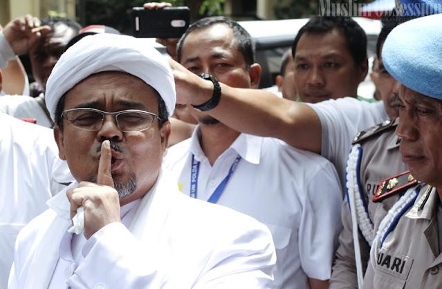 Habib Rizieq Bakal Di BAP Besok, Polisi: Tak Usah Bawa Pasukan!