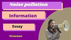ध्वनी प्रदूषण महत्व मराठी निबंध Noise sound pollution essay in Marathi
