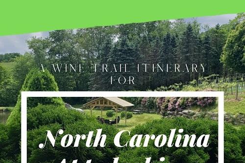 Travel To North Carolina Appalachian Wine Country | Nik Snacks