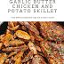 Garlic Butter Chicken and Potato Skillet Recipe