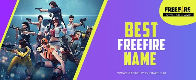 Free Fire Name : Cool & Stylish For FreeFire Players