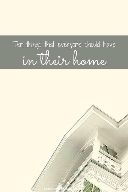 home essentials; things you need; emergency items; new homeowners item checklist