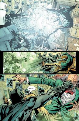 The Batman's grave comics BD CINEBLOGYWOOD