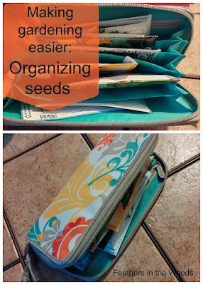 Organize garden seeds