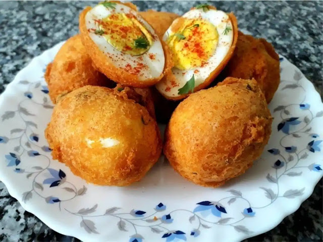 Egg Pakora recipe easy to make at home