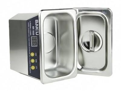 Ultrasonic Cleaner - Peralatan Servis HP Profesional Apa Saja?