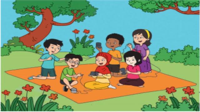 "Materi Kelas 4 SD/MI Bahasa Inggris ""Togetherness in Diversity"""