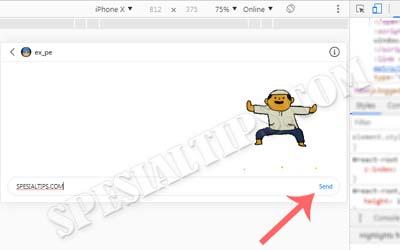 Cara Mengirim Pesan DM Instagram Di Komputer (Desktop/Laptop) Tanpa Aplikasi
