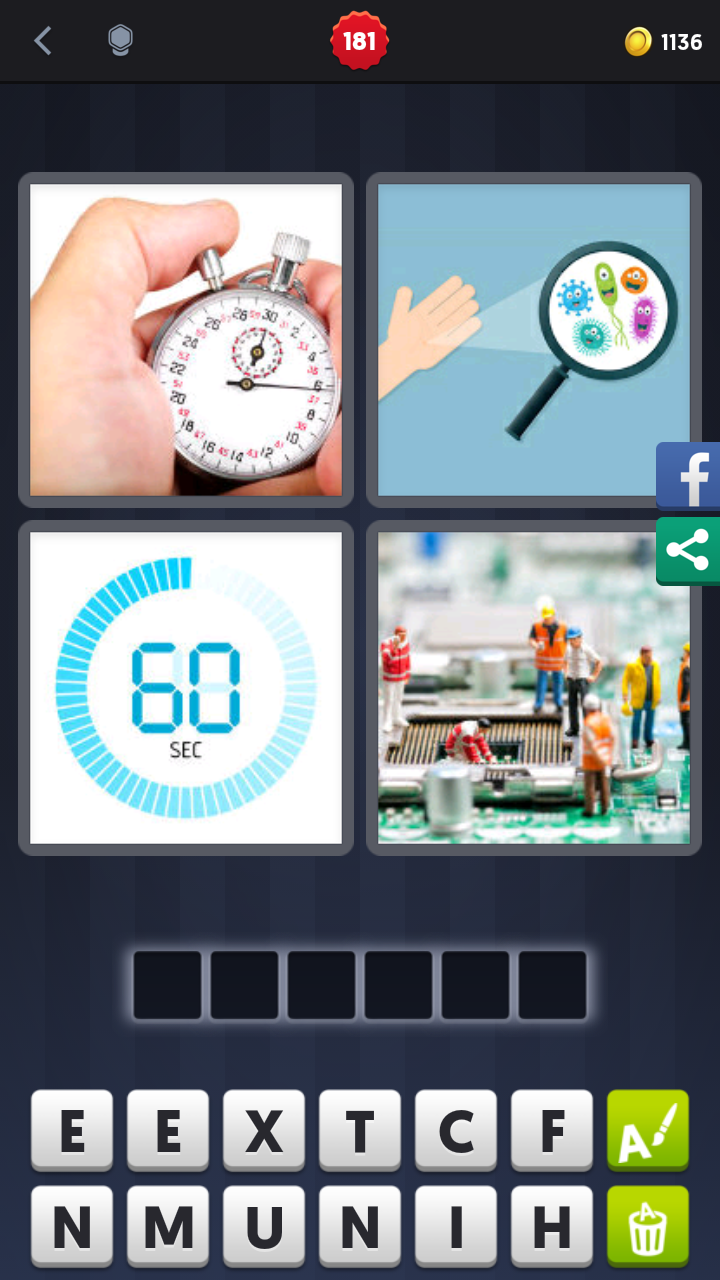 4 pics 1 word 6 letters level 65 4 pics 1 word answers solutions level 181 minute 19736