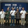 Pangdam XIV/Hsn, Silaturahmi di Media Harian Fajar Grup