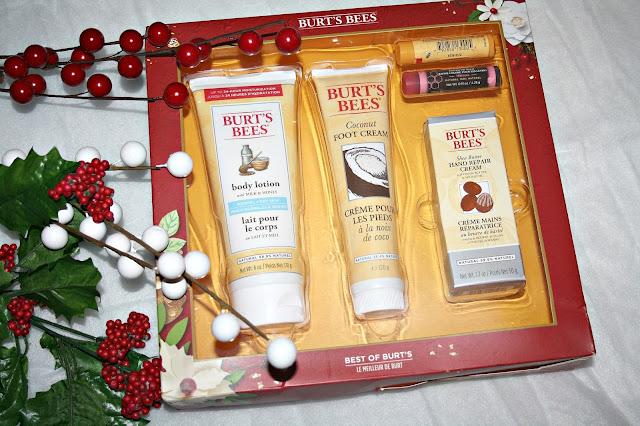 Christmas with Burt's Bees