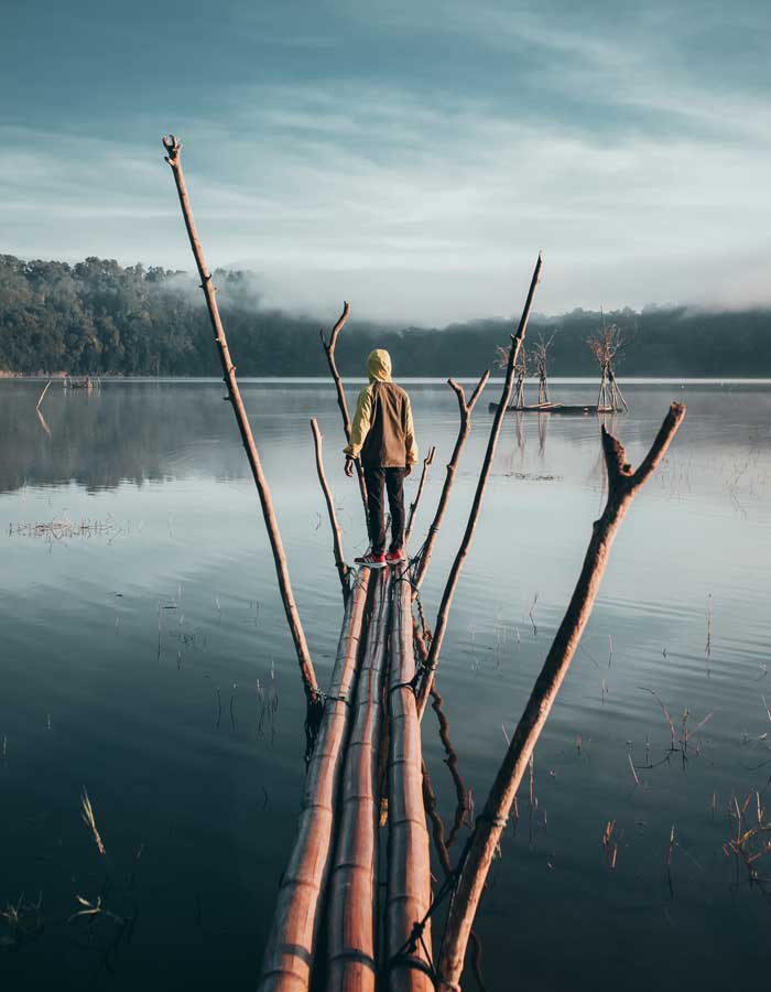 Fasilitas Wisata Tamblingan Lake Bali