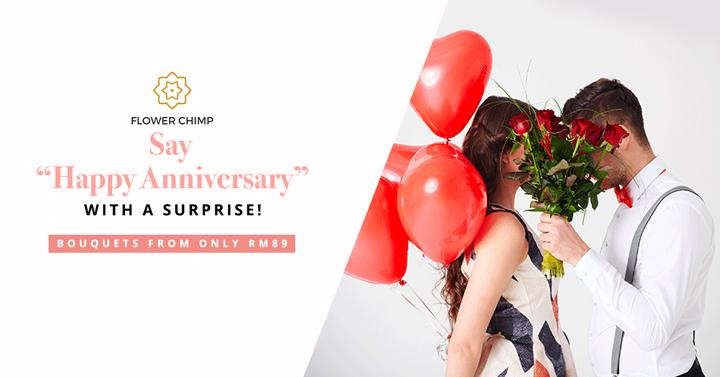 Flower Chimp Tawar Servis Penghantaran Bunga Secara Online Serendah RM89