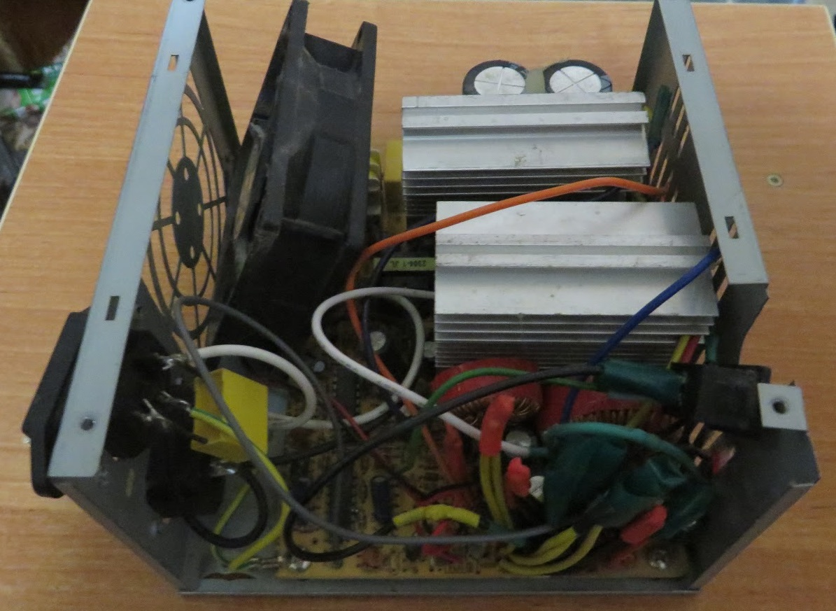 Heap But Ugly Variable Bench Power Supply 1 To 9v Desktop Working Atx