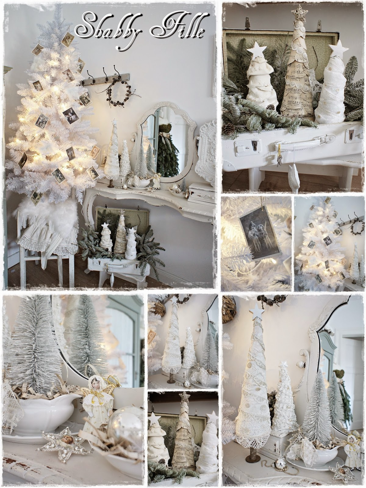 Shabby fille for Weihnachten deko