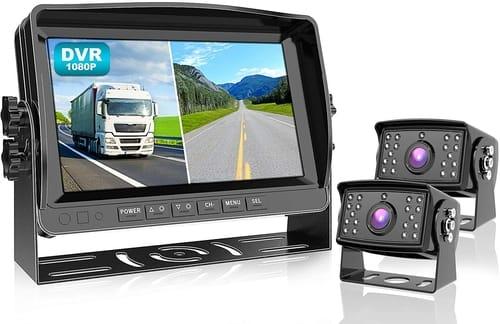 Fookoo CAR 1080P Backup Camera System Kit